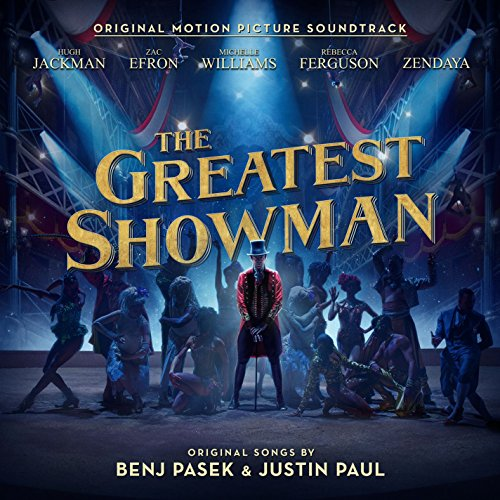 Cover: Greatest Showman 1 CD, ca. 40 min
