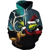 Chaos World Women's Hoodie Christmas Fashion Realistic 3D Print Sweatshirt Unisex Casual Pullover
