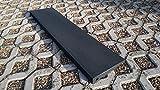 C&K Auffahrrampe,Überfahrrampe,Rampe Premium (schwarz)