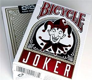 Bicycle BJOK-52Cartas de Juegos tamaño Poker, 2Jolly