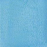 Twinzen  Albornoz Capucha Niño, Niña, Bebé - Talla 11-12 años (146-152cm), Azul Pastel - Sin Productos Químicos (Oeko Tex), 100% Algodón - Bata de Baño 2 Bolsillos, Cinturón, Capucha con Orejas