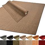 100% reines Sisal | Sisalteppich in verschiedenen Farben und vielen Größen (Kork, 66 x 130 cm)