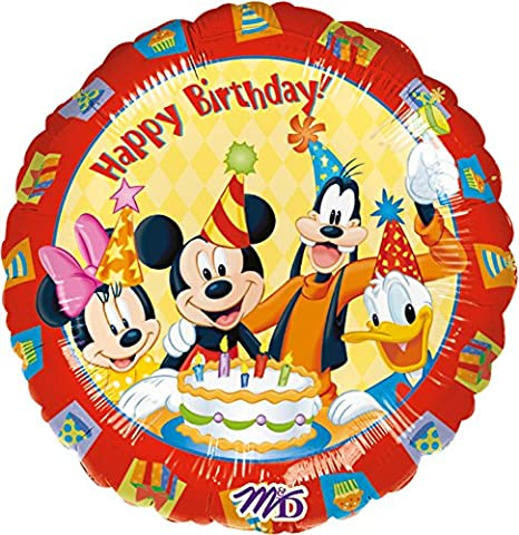 Foil Balloon-Happy BIRTHDAY MICKEY MOUSE