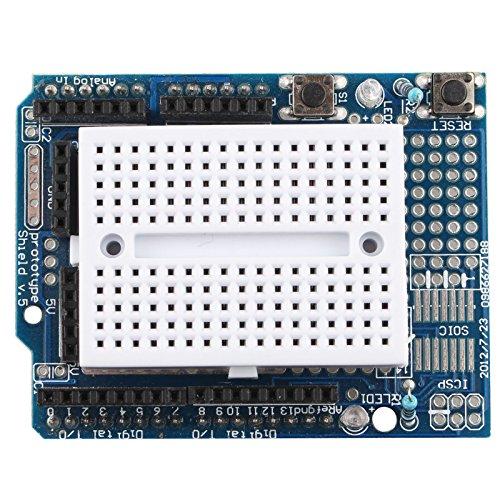 haljia Protoshield Prototyping Expansion Board mit Mini Erweiterung Brot Board für Arduino UNO Maga Nano aufgrund Roboter - Board Brot Pi Raspberry