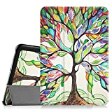 Fintie Samsung Galaxy Tab S2 8.0 Custodia - Ultra Sottile Di Peso Leggero Tri-Fold Smart Case Cover Sleeve Con Funzione Sleep/Wake per Samsung Galaxy Tab S2 8.0' (8 pollici) Tablet, Love Tree