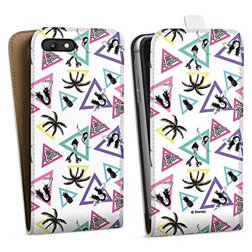 Apple iPhone 6 Plus Silikon Hülle Case Schutzhülle Soy Luna Disney Merchandise Fanartikel Downflip Tasche weiß
