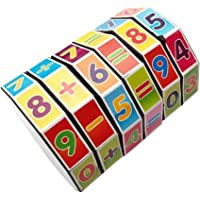 YeahiBaby 3PCS Maths Educational Toys Cylindrical Mathematics Magic Cube Puzzle Game Gift Learning Teaching Math Tool