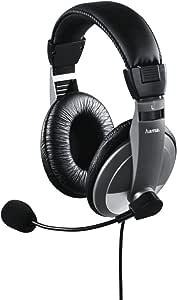 Hama Pc Headset Ah 100 Flexibles 360 Drehbares Mikrofon Over Ear Stereo Lautstärkeregler Am Kabel 2