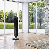 Jago Turmventilator Ventilator Standventilator mit Timer und Fernbedienung 45 W Bureau Veritas geprüft