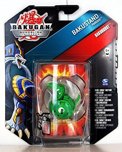 Bakugan - Gundalian Invaders - Bakuboost - Bakustand Fangoid (Green) - 44746