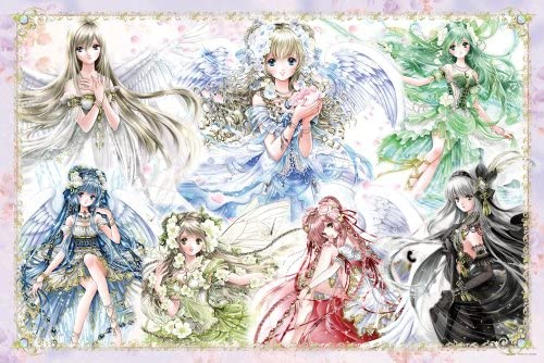 Angels 10-1247 7 color 1000 piece (japan import) | De Nouveau Modèle