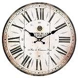 Ambiente Haus 84635Antiguo Reloj De Pared 28cm