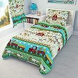 Bettwäschegarnitur für Kinderbett von Ikea, vertrieben durch Babies Island, Deckenbezug und Kissenbezug, 110 x 125, für Ikea-Bettdecken