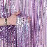 WATERMELON Wall Cinta decoración serpentinas Telón de Fondo láser Color Rain Curtain...