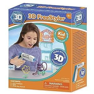 3d Maker 3d Freestyler Pen Amazon Co Uk Toys Amp Games