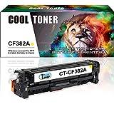 Cool Toner compatibile toner per CF382A 312A per HP Color LaserJet Pro MFPM476nw M476dn M476dw, 2700 pagine, Giallo