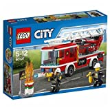 #2: Lego Fire Ladder Truck, Multi Color