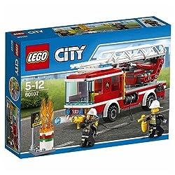 LEGO® City 60107 Feuerwehrfahrzeug mit fahrbarer Lei
