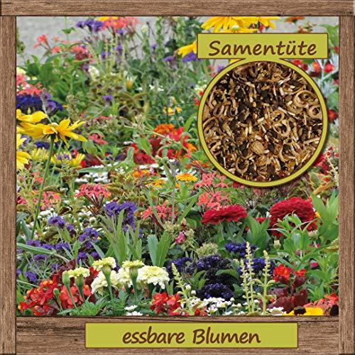 Samenliebe hochwertige Blumen-Samen 'essbare Blüten' für ca. 1m² - aus natürlichem Anbau - Herkunftsland: Deutschland -