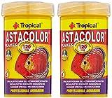 Tropical Astacolor, farbförderndes Flockenfutter, 2er Pack (2 x 100 ml)