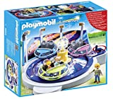 Playmobil Summer Fun Amusement Park Spinning Spaceship Ride With Lights