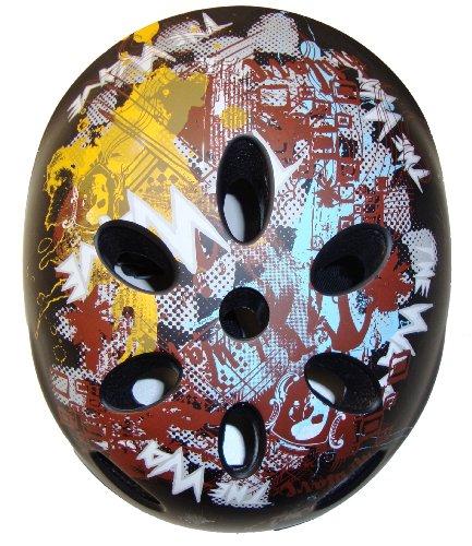 Preisvergleich Produktbild Streetsurfing Kinder Helm, Black Collage, 54-58 cm, 226