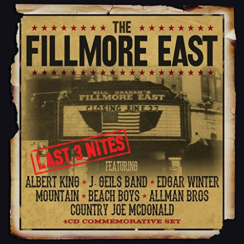The Fillmore East Last 3 Nites -