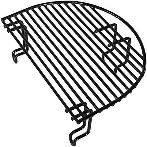 Le rack d'extension grill Patio barbecue extérieur ovale acier Cuisson sur le gril Accessoires  HNAA
