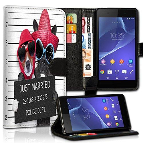 wicostar Wallet Book Style Flip Handy Tasche Case Schutz Hülle Schale Motiv Etui für Huawei Shot X - Variante UMV37 Design3 (Shot-tasche-ständer)