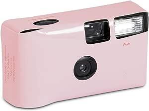 Pastel Pink Disposable Camera Camera Photo