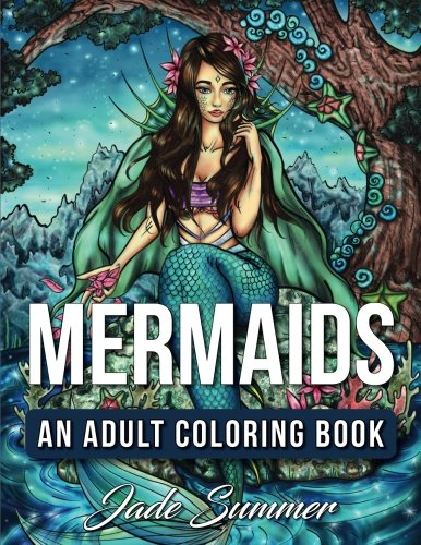 mermaids-an-adult-coloring-book-with-mystical-island-goddesses-tropical-fantasy-landscapes-and-under