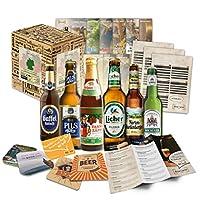 COFFRET CADEAU DE 6 BIÈRES ALLEMANDES! Vous recevrez un coffret cadeau de haute qualité avec 6 bières allemandes et un papier cadeau GRATUIT! Les bières seront expédiées avec un bel emballage, idéal pour les cadeaux! Dans le colis, vous trouverez les...