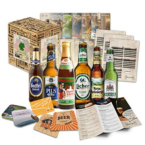 Kleine Bier Geschenkidee - Geschenkidee für Eltern zum Geburtstag, Einzugsgeschenk, lustige Geschenke