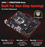 Asus EX-H110M-V Gaming Board - 6th Generation MotherBoard (LGA1151, DDR4 2133Mhz Upto 32GB, Anti-Moisture Coating, Game Cafe Validated, USB 3.0)