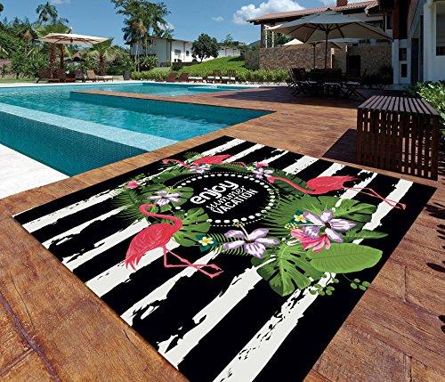 ADP Home - Pareo Digital Flamingo Summer 100% Algodón
