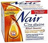 Nair - Cire Divine Rituel Douceur aux Huiles Nourissantes BIO d'Argan et Onagre - 400 g