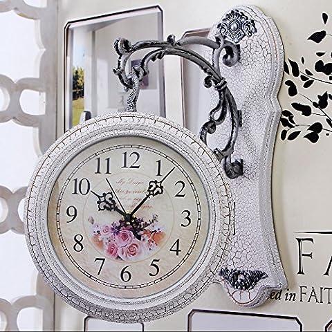 CLG-FLY moda moderna retro simple Creative Arts Europa y el salón del Reloj de pared#16