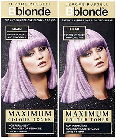 Jerome Russell Bblonde maximum Toner de couleur lilas (lot de 2)