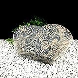 Grabstein Urnenstein Herz inkl. Inschrift 40x30x7 cm Material: Juperana