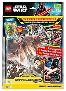 Top Media 180231Lego Star Wars Cartas coleccionables, Starter Pack