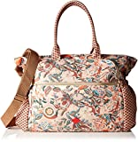 Oilily Oilily Baby Bag OES6162-839 Damen Umhängetaschen 43x33x17 cm (B x H x T), Braun (Hazel Rose 839)