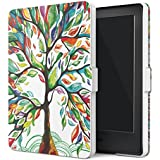 "MoKo Funda para Kindle 8th Generación - Funda de SmartShell Más Delgada y Ligera con Auto Sueño / Estela para Amazon All-New Kindle E-reader (6"" Display, 8th Generacón 2016), Lucky Álbo (No es compatible con el kinlde paperwhite)"