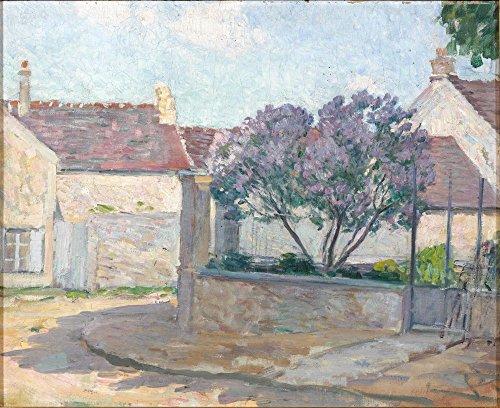 Das Museum Outlet-Village Street in Anjou, 1900, gespannte Leinwand Galerie verpackt. 29,7x 41,9cm