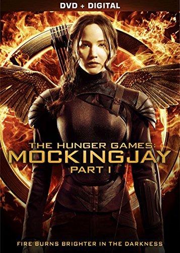 The Hunger Games: Mockingjay - Part 1 [DVD + Digital] by Jennifer Lawrence (Hunger Film Games)