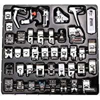 42 PCS Domestic Sewing Machine Foot Presser Feet Kit