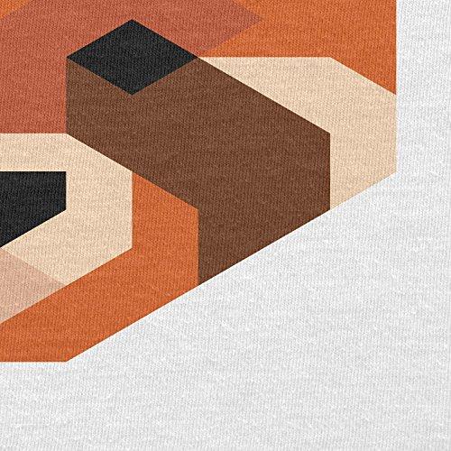 Texlab–Simple Paws–sacchetto di stoffa Bianco
