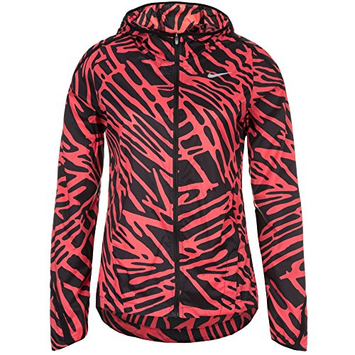 Nike Palm Impossibly Light Jkt Giacca Sportiva Rojo / Negro / Plateado