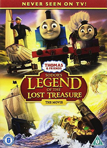 Thomas & Friends: Sodor's Legend of the Lost Treasure [DVD] [UK Import]