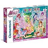 Clementoni 26954 - Puzzle Winx, 60 Pezzi, Multicolore