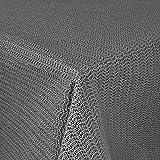 Unbekannt GARTENTISCHDECKE 130x160cm WETTERFEST eckig ANTI RUTSCH (130x160cm, Schwarz)